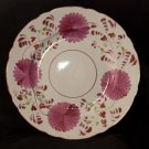 Allertons china pink floral plate