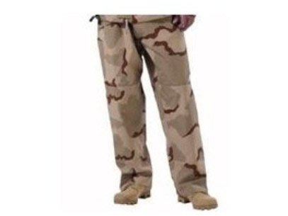 US Military TROUSERS EXTENDED COLD WEATHER CAMOUFLAGE Desert Pants Water Proof Hunting