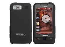New Black Samsung Cell Phone i910 Accessory Silicon Skin Protector Mobo USA