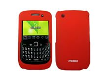 New Pro-Tech Red Blackberry Curve Cell Phone Accessory 8520 / 8530 / BB8520 Skin Protector