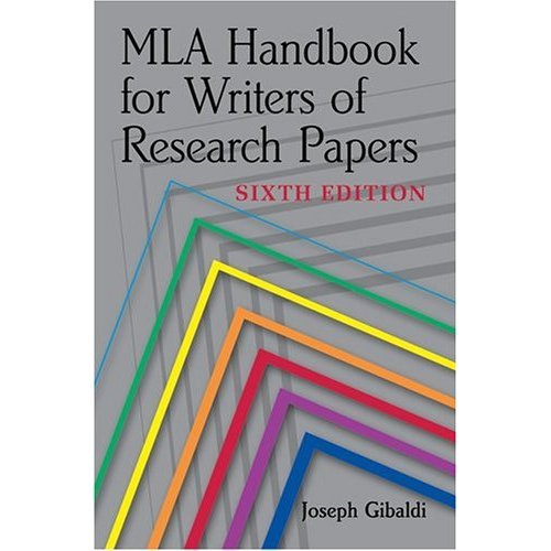 mla handbook writers research papers 2003 Mla handbook for writers of research papers / joseph gibaldi format book edition 6th ed published new york : modern language association of america, 2003 description xvii, 361 p : ill 23 cm other contributors modern language association of america portion of title handbook for writers.