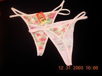 Thong panty confortable, practical, exclusive pattern!!
