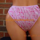L Pink w/hearts 100%cotton thong DISCOUNT by INVOICE