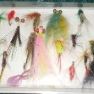 Trout Fly Fishing,  17pc lot Assortment