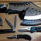 Lot 2, 5 Pc Knife Set