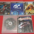 Playstation 3 Used 5 Game lot B