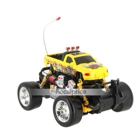333-731B 1:18 RC 4WD SUV Drifting Car Toy (Yellow)