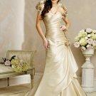 V-neckline Wedding Dress Bridal Gown
