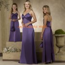 Floor-length V-neckline Spaghetti Strap Chiffon Bridesmaid Dress/Evening Dress/Home Coming