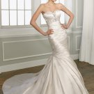 Mermaid Sweetheart Beading Lace-up 2012 Wedding Dress
