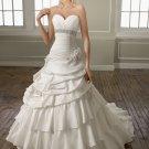 A-line Sweetheart Beading 2012 Wedding Dress