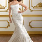 Mermaid Corset Lace-up Back 2012 Wedding Dress