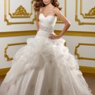 Beading Organza Ball Gown 2012 Wedding Dress