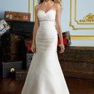 Sweetheart Corset Strapless 2012 Wedding Dress