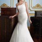 One-Shoulder Corset Mermaid 2012 Wedding Dress