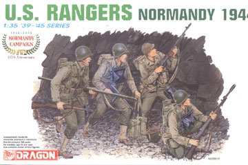 Dragon 1/35 US Rangers Normandy 1944