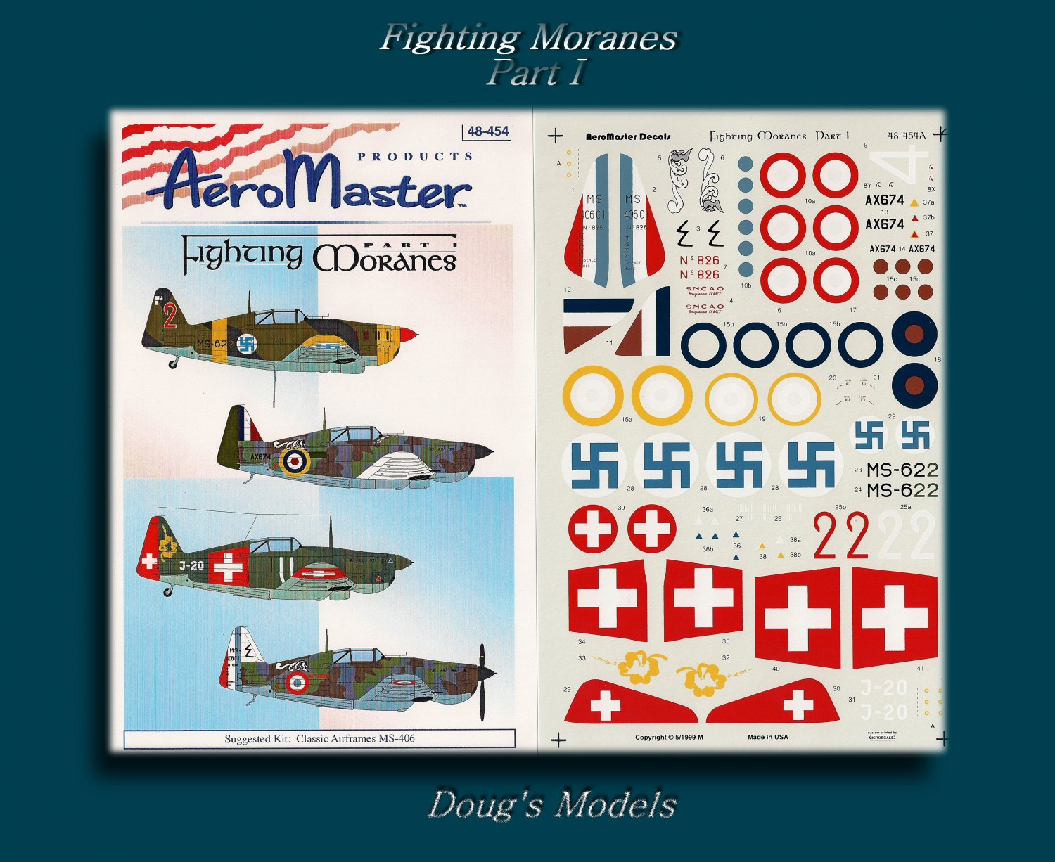 Aeromaster 1/48 Fighting Moranes Part 1