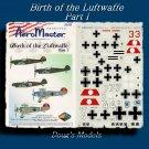 Aeromaster 1/48 Birth of the Luftwaffe Pt. 1