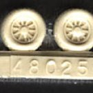 True Details 1/48 P-51 Wheel Set #2 Checkerboard Tread