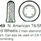 True Details 1/48 Texan T-6 Wheels (2)