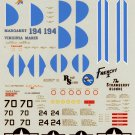Repli-Scale Decal 1/48 P-38 J/L Lightning 49th Fighter Group #2 48-5053