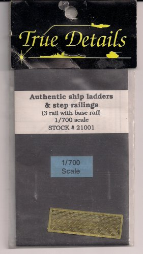 True Details 1/700 Authentic Ship Ladders & Step Railings 21001