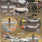 Aztec 1/48 Juicy Jugs Latin American P-47s 48-044