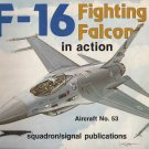 Squadron/Signal F-16 Fighting Falcon in action #53 1053
