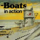 Squadron/Signal U-Boats in action Warships #1 4001