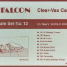 Falcon 1/48 Clear Vax Canopies US Navy WWII Pt. 2 No. 12