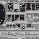 Eduard 1/48 Wellington Mk. III Interior FE 379