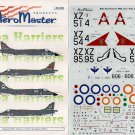 Aeromaster 1/48 BAe Sea Harriers Pt. I 48-540