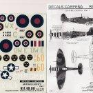 Decals Carpena 1/48 Spitfire Exotics Pt. 7 48.88
