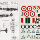 Decals Carpena 1/48 Spitfire Exotics Pt. 3 48.84