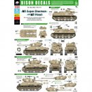 Bison Decals 1/35 Six Day War M1 Super Sherman and M7 Priest 35164