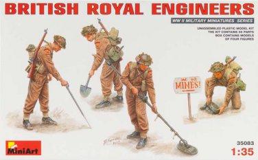 Miniart 1/35 British Royal Engineers 35083