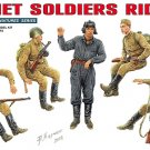 Miniart 1/35 Soviet Soldiers Riders 35055
