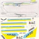 Pointer Dog 1/144 Hokkaido International Airlines 767-33A ER 2012