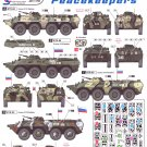 Star Decals 1/35 Russian BTR-80 Balkan Peacekeepers Pt. 2 35-986