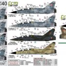 FCM 1/48 Mirage 2000 B,C, -5F, D, & N Decal Set 48040