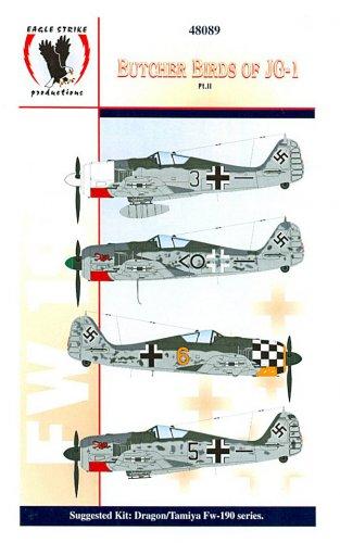 Eagle Strike 1/48 Butcher Birds of JG-1 Pt. II 48089