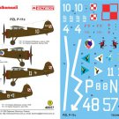 Techmod 1/48 PZL P-11c Polish Reconaissance Aircraft 48057
