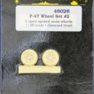 True Details 1/48 P-47 Wheel Set #2 48026