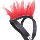 Red Mohawk Top and Base Strap (brwn/wht/blk) Pet Clothing Dog Hair