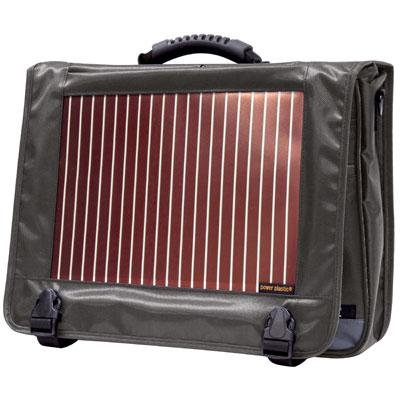 Traveler's Choice ECO Solar Pow.Messenger Bag GY