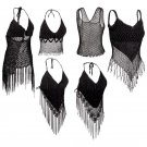 6pc Ladies' Halter Top Set (Medium/Large) 6PC SET- HALTER TOP M/L