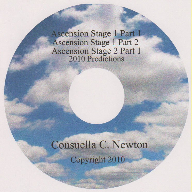 CD  Audio Ascension Stage 1 Part 1, Stage 2 Part 2, Stage 2 Part1