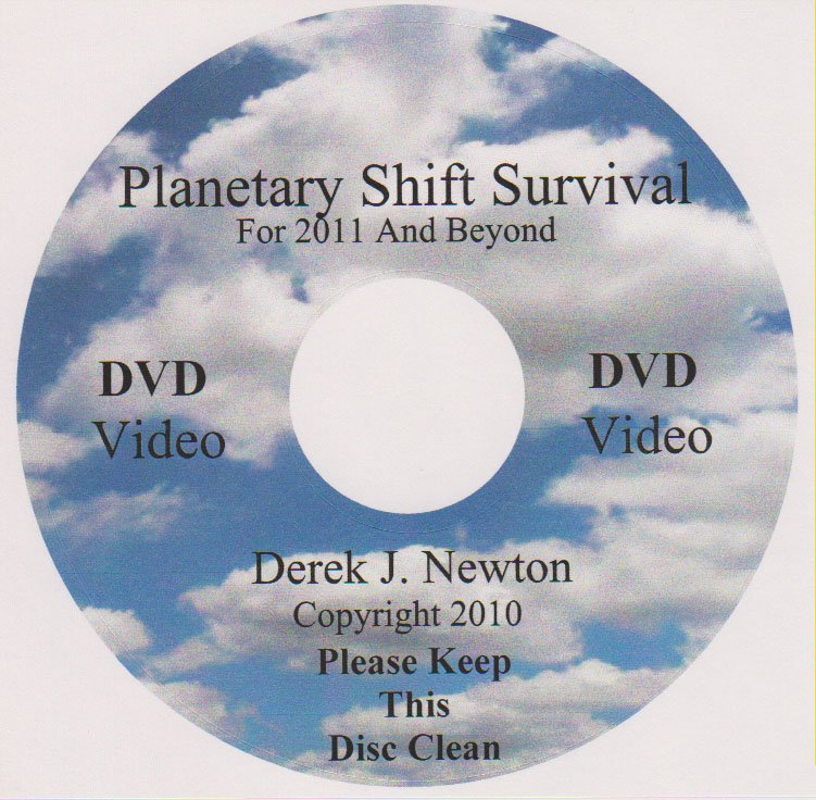 "DVD Video- Planetary Shift for Survival ""Part I"" ( By Derek Newton)"