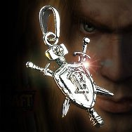 World of Warcraft Human Platinum Necklace WOW