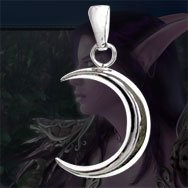 World of Warcraft Night Elf Moon Necklace WOW